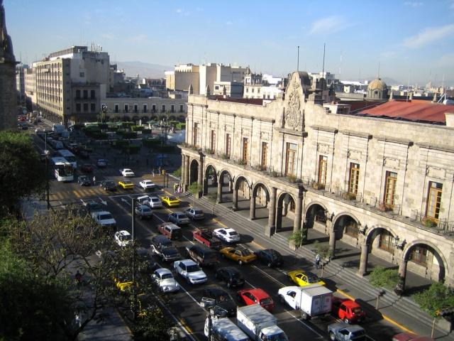 Tráfico en Guadalajara